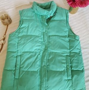 Teal/Green Puffy Vest